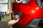 Хромированная окантовка противотуманных фар для Mazda CX-5 2011+ (Kindle, CX5-L23)