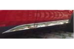 Хромированный молдинг на двери (широкий) для Toyota Rav4 2013+ (Kindle, RV-D34)