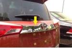 Хром накладка задней двери над номером для Toyota RAV4 2013+ (Kindle, RV-D35)
