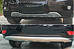Накладки на передний и задний бамперы для Lexus RX-350 2009- (Kindle, HM-RX-B11/22)