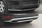 """Накладки на передний и задний бамперы """"Original"""" для Volkswagen Touareg 2010+ (Kindle, TR-B11-12)"""