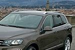 Рейлинги на крышу для Volkswagen Touareg 2010+ (Kindle, TR-R11)