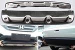 Накладки на передний и задний бамперы для Honda CR-V 2012+ (Kindle, CRV-B26)