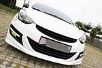 Решетка радиатора для Hyundai Elantra 2010- (KAI, HYUN.EL-GRMY-01)