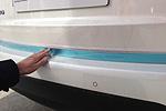 Хром накладка задней двери для Kia Sorento 2013- (Kindle, HM-KSO-ND35)