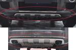 Накладка на передний и задний бампер для Hyundai Tucson 2004-2009 (Kindle, HT-B49-B410)