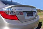 Задний спойлер ʺBladeʺ Honda Civic 2012- (S-Line, HON.CC.321)