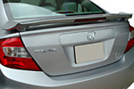 Задний спойлер со стопом ʺOEMʺ Honda Civic 2012- (S-Line, HON.CC.458)
