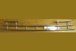 Решетка на бампер HONDA CR-V 2005-2007 (Cobra, HON1067)