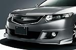 "Юбка переднего бампера ""Mugen-style"" Honda Accord 2008- (Ad-Tuning, HRD-FS01)"