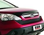 Дефлектор капота (с логотипом) Honda CR-V 2007- (EGR, 013051L)