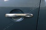 Хром накладки дверных ручек к-т 3 шт. Volkswagen T5 Transporter/Multivan 2010- (Omsa Prime, 7522041)