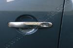 Хром накладки дверных ручек к-т 4 шт. Volkswagen T5 Transporter/Multivan 2010- (Omsa Prime, 7531042)