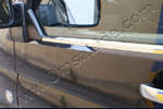Хром накладка на окантовку стекла Volkswagen T5 Transporter/Multivan 2010- (Omsa Prime, 7522141)