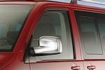 Хром накладки зеркал Volkswagen T5 Transporter/Multivan 2010- (Omsa Prime, 7530111)