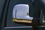 Хром накладки зеркал Volkswagen T5 Transporter/Multivan 2010- (Omsa Prime, 7530112)