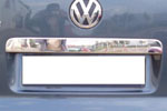 Хром накладка на ляду над номером Volkswagen T5 Transporter/Multivan 2010- (Omsa Prime, 7522052)