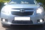 Дневные ходовые огни DRL (type 2) в штатное место Chevrolet Cruze (LONGDING, HCR-DRL.TYPE2)