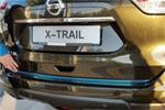 Хром накладка задней двери для Nissan X-Trail 2014+ (Kindle, NX-D42)