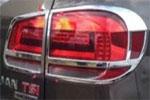 Хромированные накладки задних фар для VW Tiguan 2011-2015 (Kindle, TG-L32)