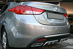Задний диффузор (new type) для Hyundai Elantra (Avante MD) 2011- (S-Line, HYEL.RD01)
