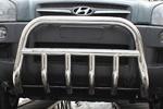 Передняя защита бампера с защитой картера для Hyundai Tucson 2005- (UAtuning, HYU.FG101)