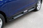 "Боковые пороги ""OEM Style"" для Hyundai IX35 2010-2013 (Kindle, HT-S91)"