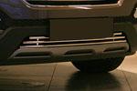 Декоративные элементы воздухозаборника (хром загл.) d16 для Hyundai Santa Fe 2013- (Союз-96, HYSF.97.2350)