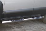 Боковые пороги D76 для Hyundai Tucson 2004- (UAtuning, HYU.SG303)