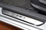 Накладки на внутренние пороги (нерж.) для Hyundai I40 2013- (Nata-Niko, P-HY16)