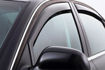 Ветровики (дефлекторы окон) для Infiniti FX35/45 2003-2008 (Climair, CLI0033241/CLI0042864)