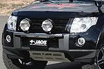 Дуга для доп. оптики Mitsubishi Pajero Wagon 2007- (Jaos, 180320/170001)