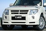 Спойлер переднего бампера Mitsubishi Pajero Wagon 2007- (Jaos, 805320)