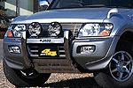 Дуга передняя Mitsubishi Pajero III (V60) 03- 5D (Jaos, 142310)