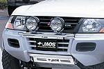 Дуга передняя Mitsubishi Pajero III (V60) 03- 5D для дополнительной оптики (Jaos, 180312S)