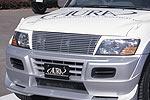 Решетка радиатора Mitsubishi Pajero Wagon 2000- (Jaos, 325310)