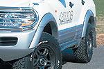 Расширители колёсных арок Mitsubishi Pajero Wagon 2000-2003 (Jaos, 700310)