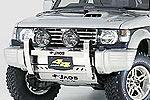Дуга передняя Mitsubishi Pajero 1991-2000 R 91-97 (Jaos, 142305)