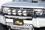 Дуга передняя Mitsubishi Pajero 1991-2000 для дополнительной оптики 91-97 (Jaos, 180305S)