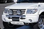 Дуга передняя Mitsubishi Pajero Pinin 00- для дополнительной оптики (Jaos, 180550S)