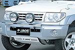 Дуга передняя Mitsubishi Pajero Pinin 98-00 для дополнительной оптики (Jaos, 180560S)