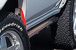 Пороги труба Mitsubishi Pajero Pinin 5D 98- (Jaos, 221560)