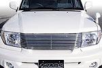 Решетка радиатора Mitsubishi Pajero Pinin 2000- (Jaos, 325550)