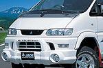 Расширители колёсных арок Mitsubishi Space Gear 1997 30mm Short (Jaos, 700407)