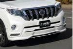 Спойлер переднего бампера JAOS (c LED) для Toyota LC Prado 150 2013+ (Jaos, B020066)