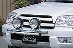 Дуга передняя Toyota 4Runner 215 для дополнительной оптики 02-05 (Jaos, 180070S)