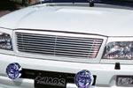 Решетка радиатора Toyota LC 100 series 2002- неокрашенная (Jaos, 325012)
