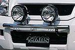 Дуга передняя Toyota LC Prado 120 для дополнительной оптики 02- (Jaos, 180050S)