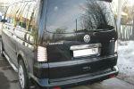 Задняя светодиодная оптика (задние фонари) для Volkswagen T5 2003-2015 (JUNYAN, 60-1392С)