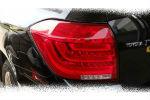 Задняя светодиодная оптика (задние фонари) для Toyota Highlander 2012-2014 (JUNYAN, BW018R)